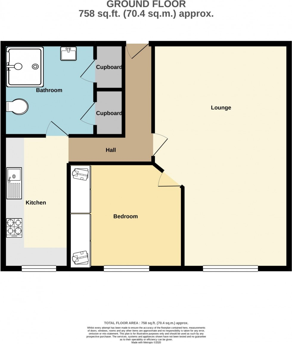 Floorplan for Bell View Manor, 10 The Oaks, Ruislip, Middlesex, HA4