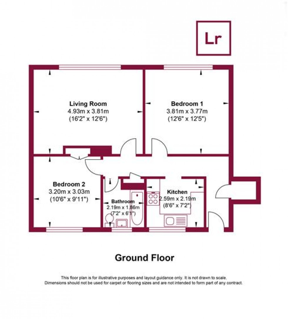 Floorplan for Victoria Road, South Ruislip, HA4