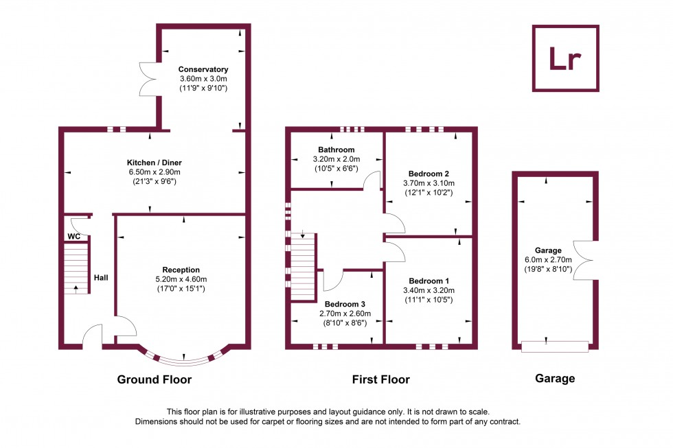 Floorplan for Park Lane, Harefield, Middlesex, UB9