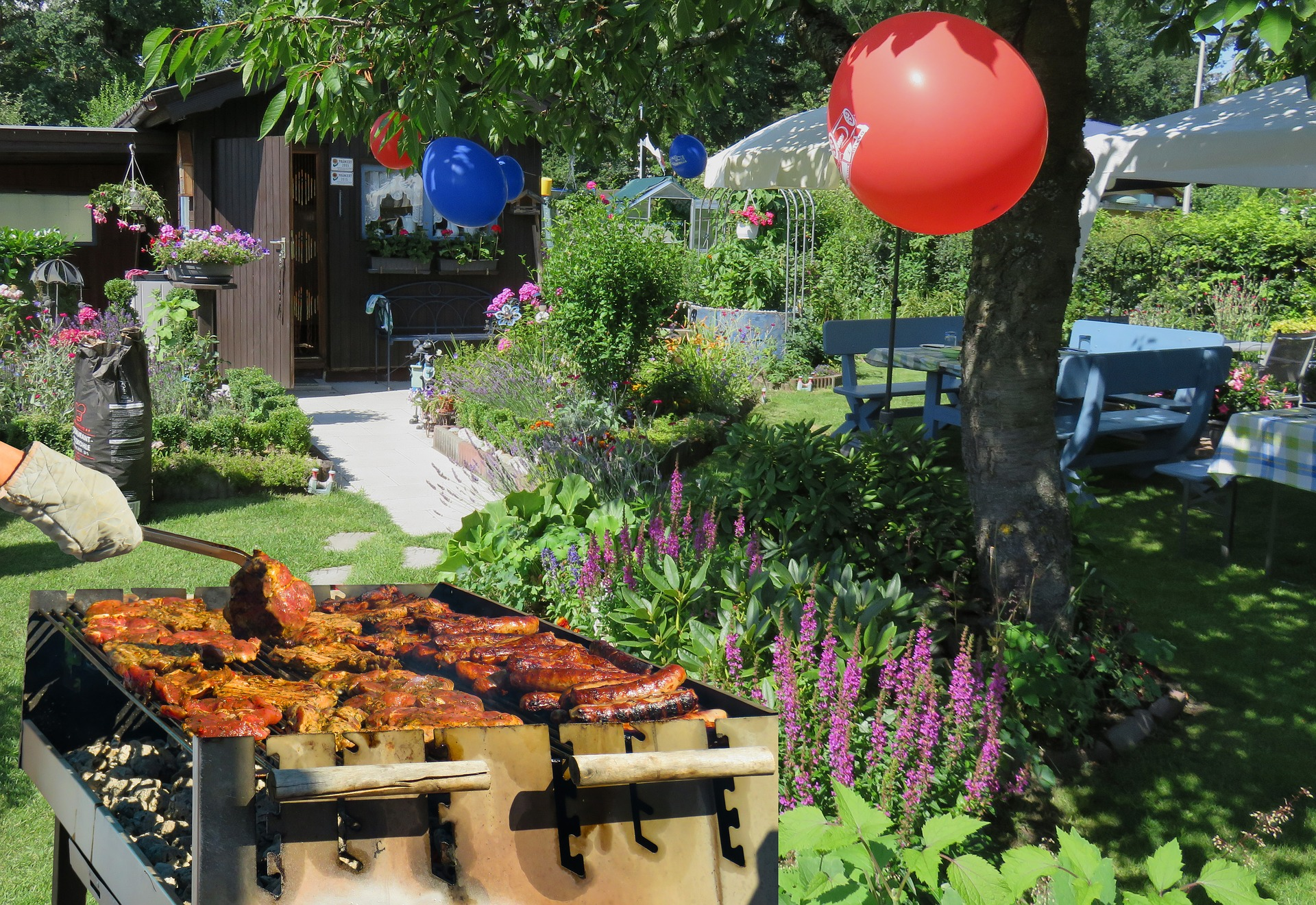 Host a Great Garden Party advise